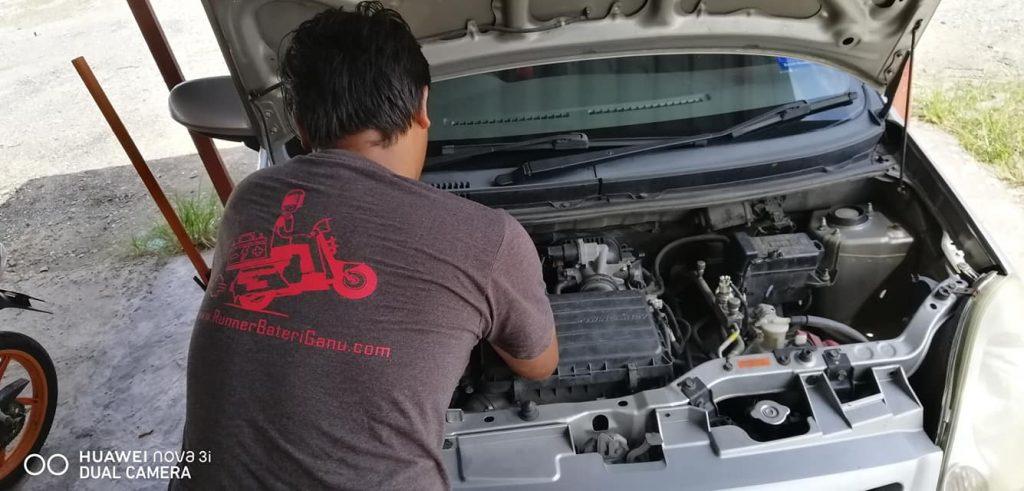 repair alternator starter kereta marang