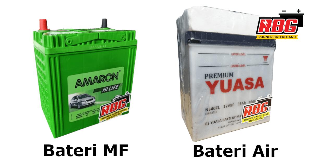 jenis bateri kereta air kering-min