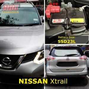 Bateri Kereta Nissan Xtrail