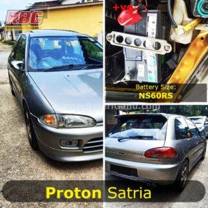 Bateri Kereta Proton Satria Lama