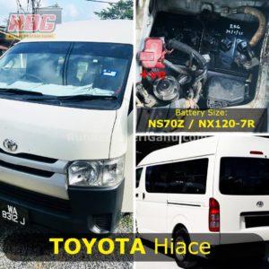 0-Bateri Kereta Toyota Hiace