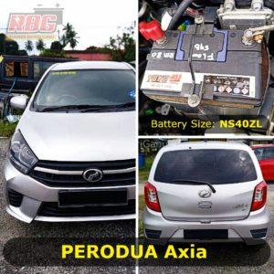 Perodua Axia-NS40ZL