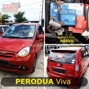 0-Perodua Viva Car Battery