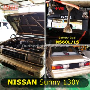 Saiz Bateri Kereta Nissan Sunny-min