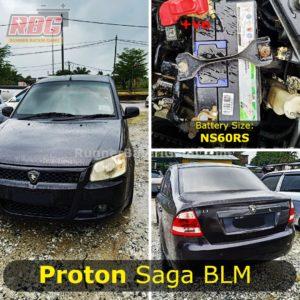 Saiz Bateri proton Saga BLM