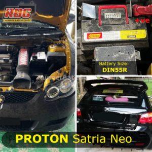 Bateri Terbaik Proton Satria NEO
