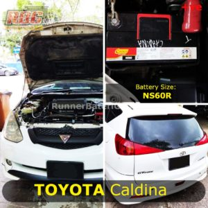 0-Car Battery Size Toyota Caldina