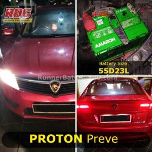 0-Saiz Bateri Kereta Proton Preve 55D23L